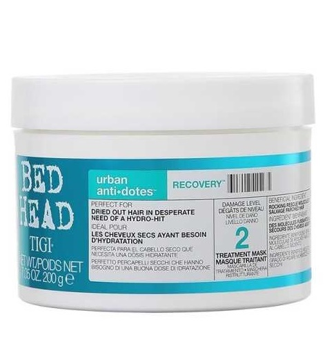 MẶT NẠ TIGI CHỮA TRỊ HƯ TỔN BED HEAD URBAN ANTI DOTES RECOVERY TREATMENT MASK 200ML