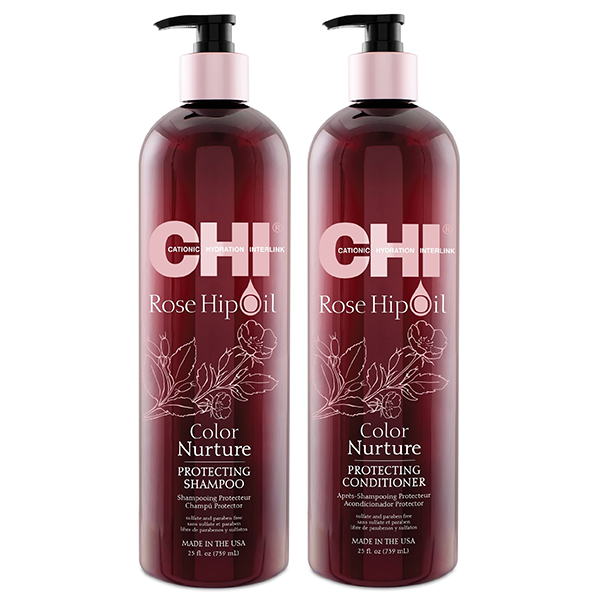 DẦU GỘI XÃ CHI ROSE HIPOIL COLOR NURTURE PROTECTING 739ML